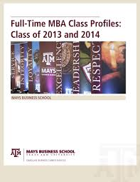Accounting Help Desk Tamu by Full Time Mba Profiles By Mays Business Issuu
