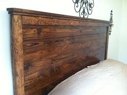 Rustic Queen Size Headboards Best 25 King Headboard Ideas On Pinterest Bed Padded