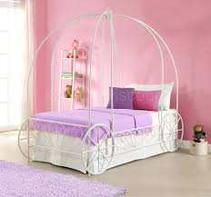 Twin Metal Canopy Bed Pewter With Curtains by Brushed Metal Bed Frame Mesmerizing Silver Iron Canopy Twin Size
