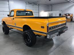 1971 Chevrolet K-20 | 4-Wheel Classics/Classic Car, Truck, And SUV Sales 1971 Chevrolet K20 Pickup F45 Indy 2014 El Camino Connors Motorcar Company Sold C10 Utility Rhd Auctions Lot 18 Shannons Short Bed Air Ride Truck Youtube Ss 454 Petite S K10 Streetside Classics The Nations Trusted C20 Deluxe Gateway Classic Cars 1190lou For Sale On Classiccarscom 71 Cheyenne Super Fast Lane Classictrucksvintageold Carsmuscle Carsusa Classic Chevrolet Truck Chevy Front