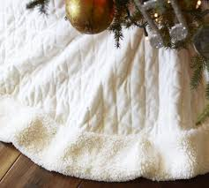 First I Searched High And Low For A Tree Skirt Liked This Was Tricky Guess Am Picky Did Find At Pottery Barn