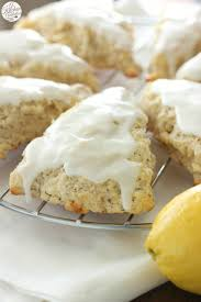 Pumpkin White Chocolate Chip Scones by White Chocolate Lemon Poppyseed Scones A Kitchen Addiction