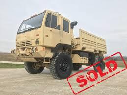 100 Midwest Truck Equipment 1997 Stewart Stevenson LMTV Military Like New