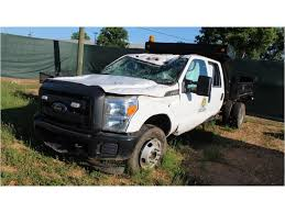 100 Ford F350 Dump Truck 2015 FORD Flatbed SN1FD8W3G69FEC64788 Crew Cab
