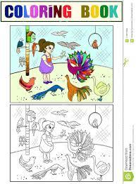 Libro De Colorear Del Encargado De Parque Zoológico Divertido Con El