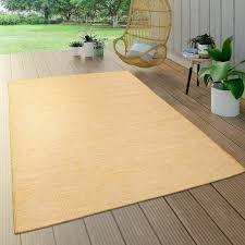 innen außen teppich bader in gelb