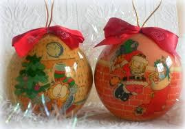 Vintage Garfield Christmas Ornament