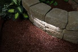led hardscape lighting deck step and retaining wall lights w