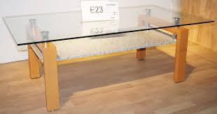 couchtisch wohnzimmer tisch glastisch beistelltisch buche