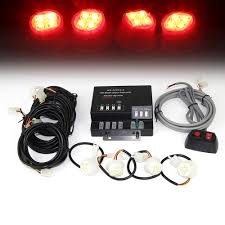 4pc 120W 4-LED Red Hideaway Strobe Light Set | Xprite Flashing Led Lights For Trucks And 4 Inch Round Strobe Whosale Remote Controlled Led Light Kit 3 Lamps 120 4pc 120w 4led Red Hideaway Set Xprite Buy 4x4 Watt Super Bright Hide Away12v Auto At 1 Car Emergency Warning Bars Deck Neewer 600w Battery Powered Outdoor Studio Flash Lighting 4in1 Eagle Eye White 12v Suv Fog 2016 Ford F150 Adds Builtin For Fleet Vehicles Lp3 Streamline Low Profile Federal Signal Strobe Kits 600 Lights And 30 Similar Items Truck Lamp