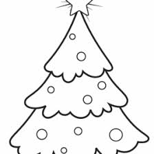 Lovely Printable Christmas Tree Coloring Pages Best Moment