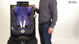 siege auto sirona cybex siège auto sirona m2 i size de cybex présentation