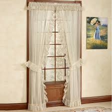 Lace Priscilla Curtains With Attached Valance by Victorian Window Accents Touch Of Class