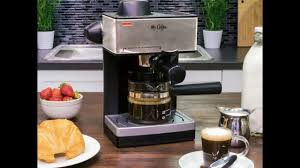 Mr Coffee 4 Cup Steam Espresso System With Milk Frother ECM160