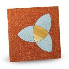 Fogazza Abstract Tiles 1 Gravel Tile With Marble Chips By
