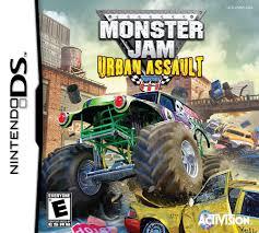 100 Monster Trucks Games Jam Urban Assault DS Game
