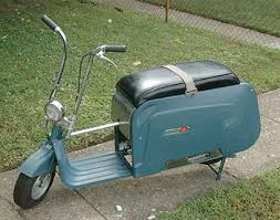 Folding Scooter From The 1960s Boing