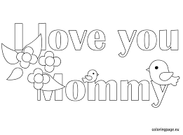 Valuable Inspiration Coloring Pages That Say I Love You
