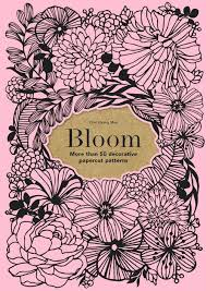 Bloom Book Cover Paper Cutting Art Templates Simple Decorative