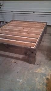 Aerobed Queen Raised Bed With Headboard by Cheap Easy Low Waste Platform Bed Plans Platform Beds 30th