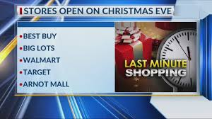 What Stores Are Open On Christmas Eve And Day 2016 Full List Of