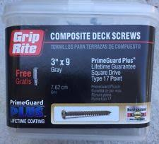 grip rite deck screws primeguard grip rite industrial screws bolts ebay