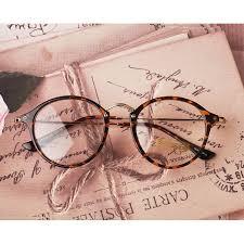 1920s vintage oliver frame e1025 leopard clear lens optical