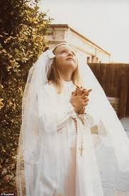 Ms Ashman Pictured At Her First Communion Knew The Way Kamm Lived His Life Was