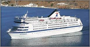 Cruise Ship Sinking Santorini by Sunken Greek Cruise Ship U0027s Skipper Arraigned Two Passengers Still