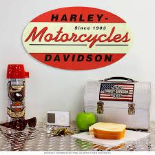 Harley Davidson 1903 Embossed Oval Tin Sign