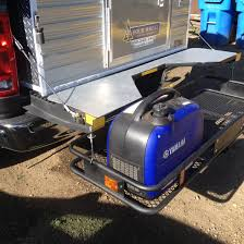 100 Truck Camper Steps Ensworths Fifth Wheel Tailgate With Hitchmounted Cargo Rack And
