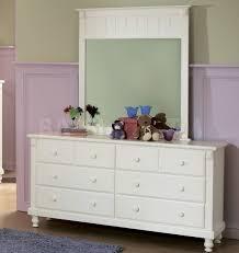 Sauder Harbor View Dresser And Mirror by White Dresser Set 3 Drawer Bedroom Storage Dresser Set Of 2 Chest