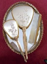 Vanity Mirror Dresser Set by 144 Best Mirrors Brushes And Vanity Sets Images On Pinterest