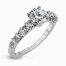 Modern Enchantment Engagement Rings