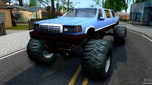 Stretch Monster Truck For GTA San Andreas Hilarious Gta San Andreas Cheats Jetpack Girl Magnet More Bmw M5 E34 Monster Truck For Gta San Andreas Back View Car Bmwcase Gmc For 1974 Dodge Monaco Fixed Vanilla Vehicles Gtaforums Sa Wiki Fandom Powered By Wikia Amc Pacer Replacement Of Monsterdff In 53 File Walkthrough Mission 67 Interdiction Hd 5 Bravado Gauntlet