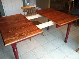 Outstanding Dining Room Table Extension Slide Osborne Wood Product Inc Video Knotty Pine Farm Leg And Complete Project Set Chair Decor Centerpiece Size
