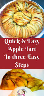 An Apple Dessert With Five Minutes Hands On And Baked In Less Than 30 Is