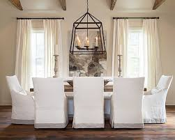Uncategorized Custom Dining Chair Slipcovers Unbelievable Cottage And Vine Slip Covered Rooms Of