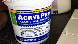 Acrylpro Ceramic Tile Adhesive Cleanup by Ceramic Tile Adhesive