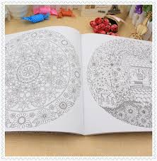 2015 Korean Version Secret Garden Inky Hunt Coloring Book Children Adult Relieve Stress Kill Time Painting Drawing Books In From Office School