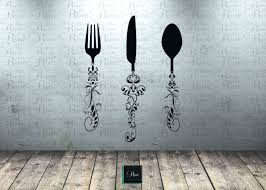 Black Wooden Spoon And Fork Wall Decor by Wall Arts Antique Kitchen Decor Wall Art Country Kitchen Wall