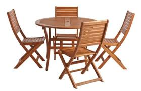 Wooden Garden Furniture Set For Hire