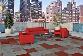 decktop architectural tile rubber deck tiles safety