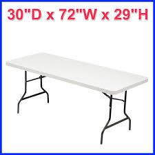 [No Tax] Alera Folding Banquet Table 72