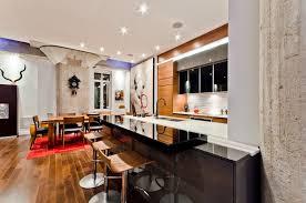 Kitchen In Modern Apartment By ActDesign Design