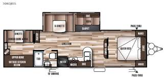 Wildwood Fifth Wheel Floor Plans Colors New 2017 Forest River Rv Wildwood 30kqbss Travel Trailer At East