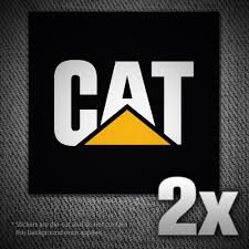 2x CAT Vinyl Decal Sticker For Car Truck Window Laptop Locker | Etsy