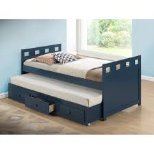 bedroom twin captains bed with storage full bed with trundle