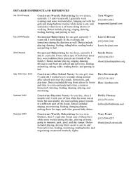 19 Beautiful Cover Letter Sample Resume Example Criminal Profile Template Best Nanny