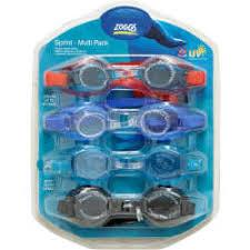 Zoggs Swim Goggle Sprint Value Pack